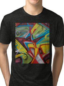 Hood Graffiti Tri-blend T-Shirt