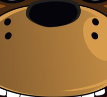 Five Nights at Freddy's - Freddy Fazbear (Headshot, Evil Grin) Sticker