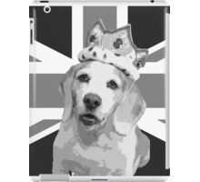 King Dexter Black & White iPad Case/Skin