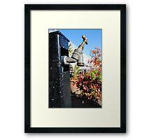 Tap Framed Print