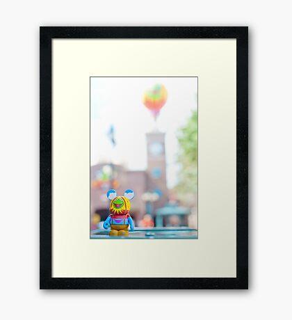 Muppet 3D Vinylmation in Hollywood Studios Framed Print