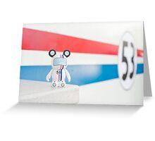 Herbie the Love Bug Vinylmation Greeting Card