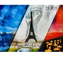 Together for Paris Photographic Print