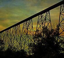 Lethbridge Train Trestle XI by Vickie Emms