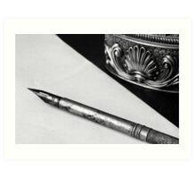 Old Pen Art Print