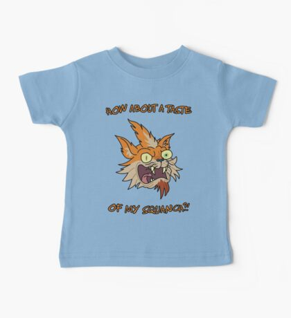 Rick and Morty – How About a Taste of My Squanch?! Baby Tee