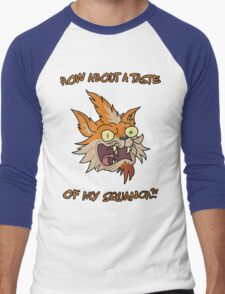 Rick and Morty – How About a Taste of My Squanch?! Men's Baseball ¾ T-Shirt
