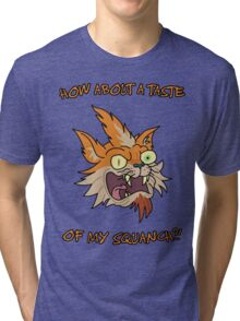 Rick and Morty – How About a Taste of My Squanch?! Tri-blend T-Shirt