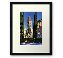 Valladolid Tower Framed Print