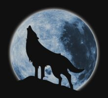 Howling Wolf by anguishdesigns