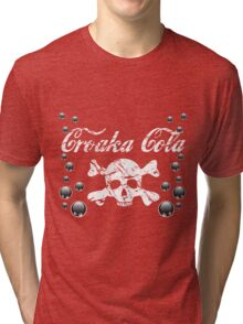 Croaka Cola Soda Tri-blend T-Shirt