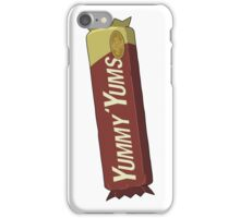 Rick and Morty – Yummy Yums, Now Purgenol Free iPhone Case/Skin