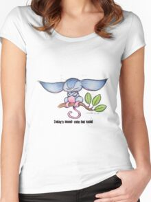 Cute Tree Mouse Women's Fitted Scoop T-Shirt