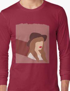 Taylor Swift - vector Long Sleeve T-Shirt