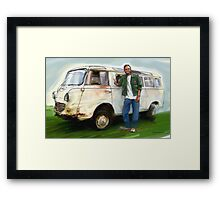 Goliath Bus Framed Print