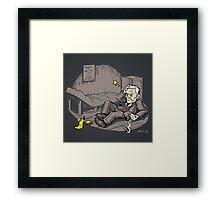 Freudian Slip (Print) Framed Print