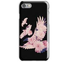 Divergent Raven Tattoo Tumblr Rose iPhone Case/Skin