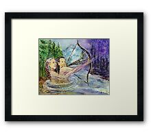 Arrows in the Wind Framed Print