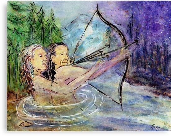 Arrows in the Wind by Robin Monroe