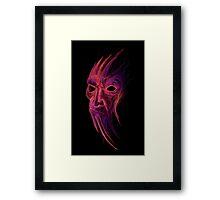 Evil Spirit Framed Print