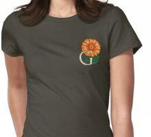 G is for Gerbera - patch Womens Fitted T-Shirt
