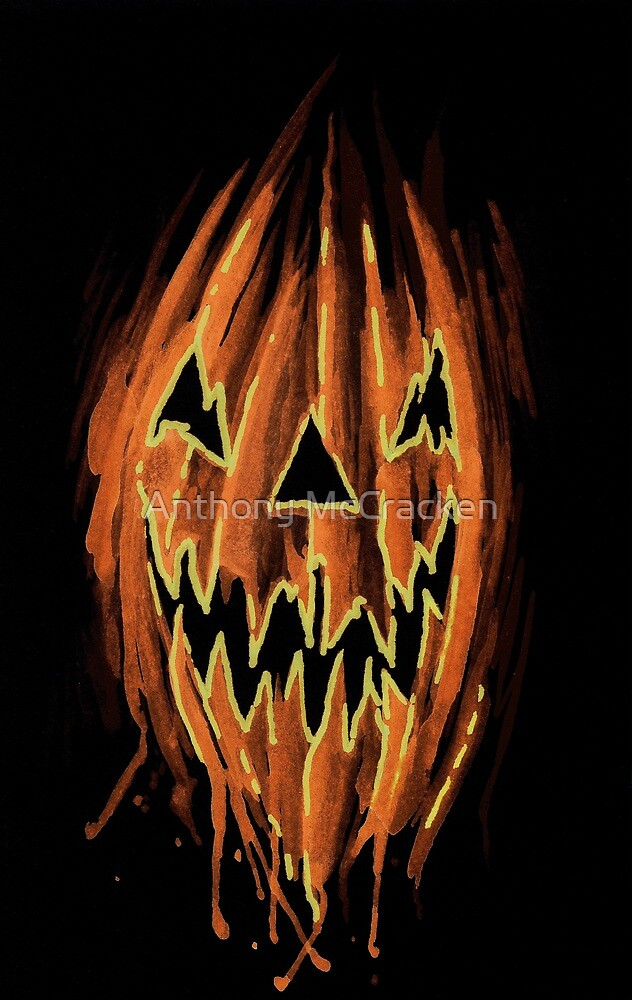 Jack-O-Lantern  by Anthony McCracken
