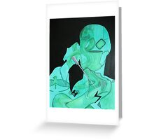 Voldemort- Horcrux Greeting Card