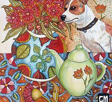 Still LIfe with Chien by genevievem
