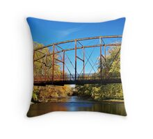 Autumn Rust Throw Pillow