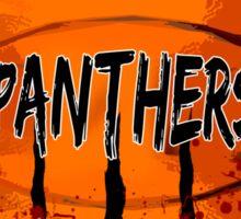 Bloody Panther Basketball Logo Sticker