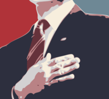 Dick Roman for Office Sticker