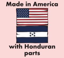 Made In America With Honduran Parts Kids Clothes