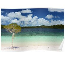 Lake McKenzie, Fraser Island Poster