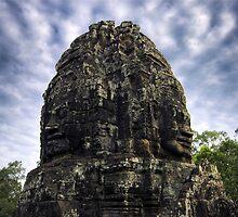 Jungle Faces, Cambodia by Michael Treloar