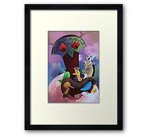 Toast of the Town Framed Print