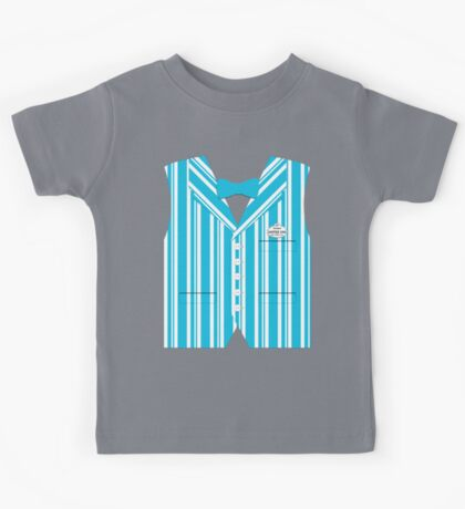 Dapper Dans Vest - Blue Kids Tee