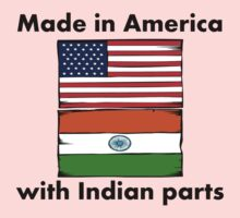 Made In America With Indian Parts Kids Clothes