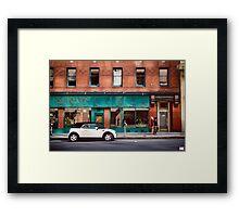 Direction. Framed Print