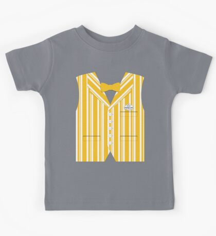 Dapper Dans Vest - Orange Kids Tee