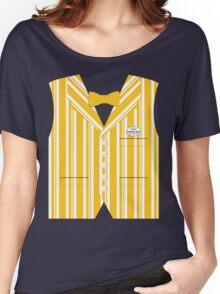 Dapper Dans Vest - Orange Women's Relaxed Fit T-Shirt