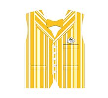 Dapper Dans Vest - Orange by jdotcole