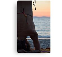 headstand Canvas Print