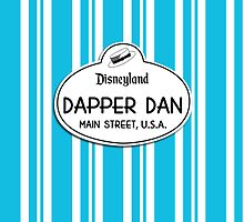 Dapper Dans Nametag - Blue by jdotcole