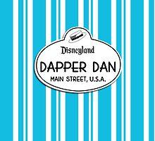 Dapper Dans Nametag - Blue by jdotcole
