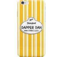 Dapper Dans Nametag - Orange iPhone Case/Skin