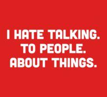 Hate talking by curvelloarruda