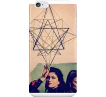 Geometric girls  iPhone Case/Skin