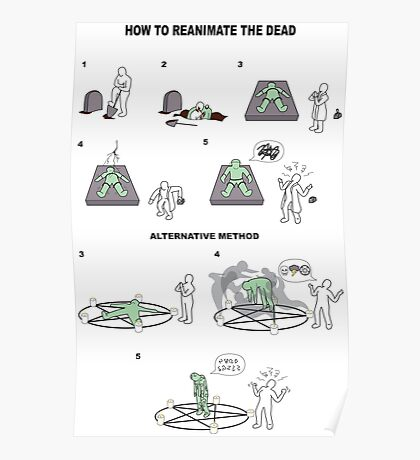 How to Reanimate the Dead Poster
