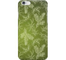 Mistletoe, Fir and Holly iPhone Case/Skin
