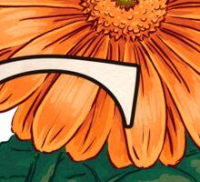 G is for Gerbera - full image Sticker
